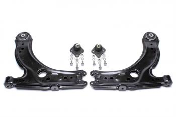 2 Koppelstangen 2 Gummilager für Stabilisator vorn Audi A3 8L Skoda Octavia 1U