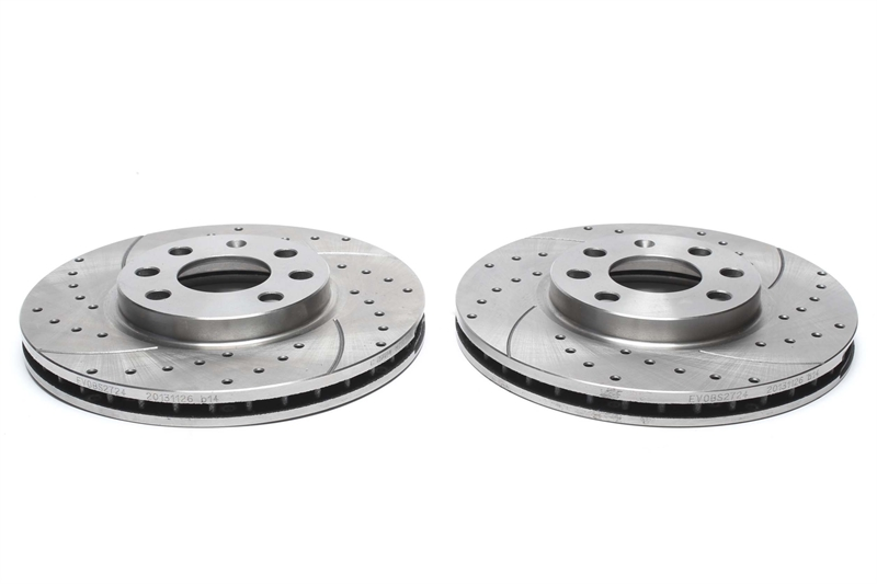 OEM SPEC FRONT REAR DISCS AND PADS FOR VAUXHALL ASTRA 1.8 2004-10