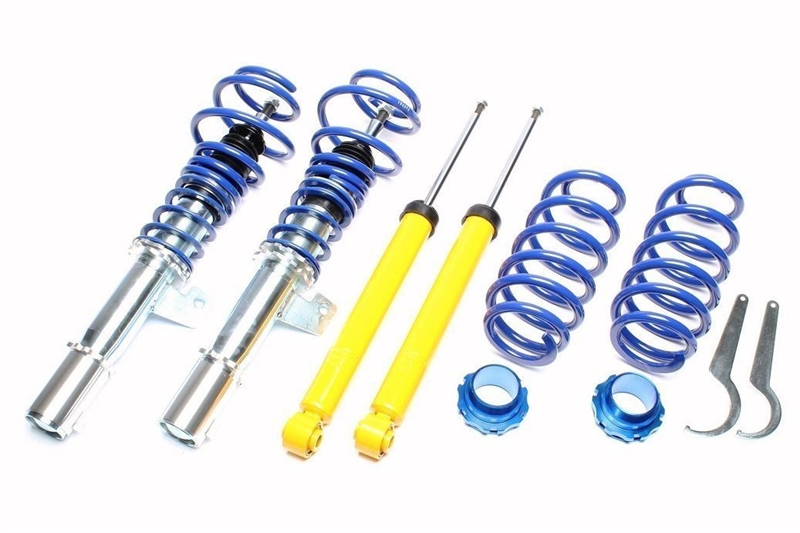 SEAT LEON MK2 2.0 TDI 2005-2013 Suspension Avant 2 Coil Springs Nouveau Set Paire